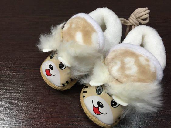 پاپوش خارجی زمستانی عروسکی کد 970