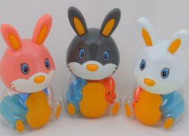 ست پوپت و جغجغه BLStoys مدل خرگوش