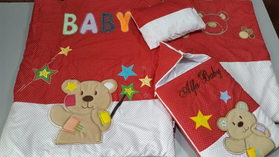 سرویس خواب ۴ تیکه با کیسه خواب ترگال خرس زخمی
