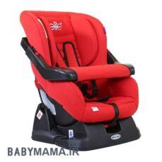 صندلی الیت پلاس نمای راست جلو رنگ قرمز
