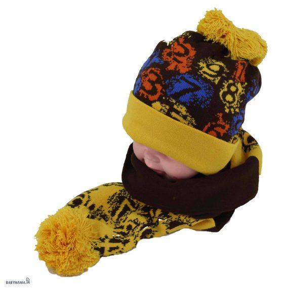 کلاه و شال گردن حروف کد ۹۰۱-۲