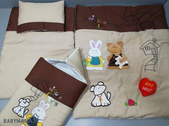 سرویس خواب تترون ۴ تیکه خرس و خرگوش