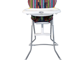 صندلی غذا خوری cute دلیجان استریپ نمای رو به رو