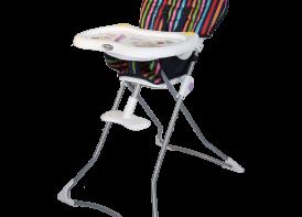 صندلی غذا خوری cute دلیجان استریپ نمای کج