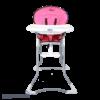 صندلی غذا خوری cute دلیجان سرخابی نمای رو به رو