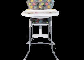 صندلی غذا خوری cute دلیجان شیطونکی خاکستری نمای رو به رو