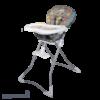 صندلی غذا خوری cute دلیجان شیطونکی خاکستری نمای کج