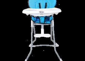 صندلی غذا خوری cute دلیجان فیروزه ای نمایش رو به رو