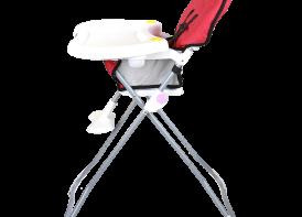 صندلی غذا خوری cute دلیجان قرمز نمای کنار