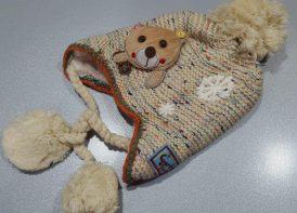 کلاه تک خرس برفی کد 104