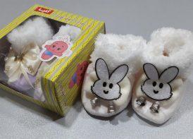 پاپوش مخمل گلپا خرگوش