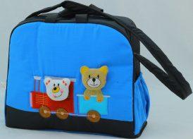ساک لوازم کودک مدل خرس و قطار (۱)