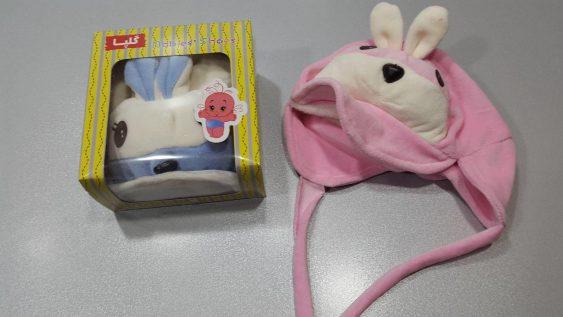 کلاه مخمل خرگوش جعبه ای