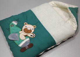 کیسه خواب خرس هواپیما تک تترون با لایکو دوبل