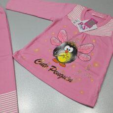 بلوز شلوار دخترانه پنگوین پرنده