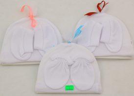 ست کلاه، پاپوش و دستکش PFkids مدل توری