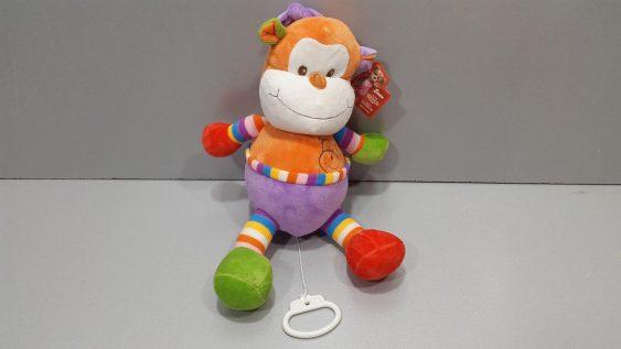 عروسکهای نخ کش موزیکال مخمل در 4 مدل خارجی