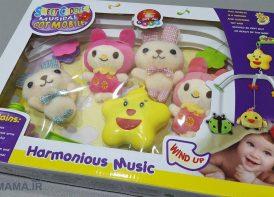 موزیکال تخت پلیش عروسکی