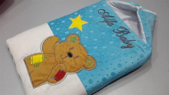 کیسه خواب مخمل خرس زخمی