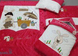 سرویس خواب مخمل خرگوش و گاری