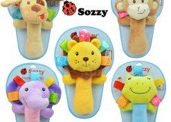 عروسک پلیشی چند منظوره مدل حیوانات sozzy