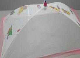 پشه بند چتری ۴ میل عروسکی