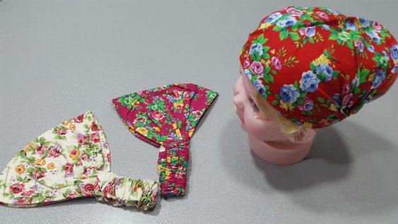 دستمال سر نوزاد مدل 3505
