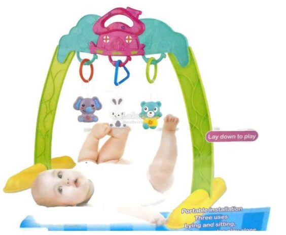 پلی گیم جغجغه ای Baby Portable Body-Building Frame