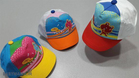 کلاه نقابدار کودک مدل قورباغه