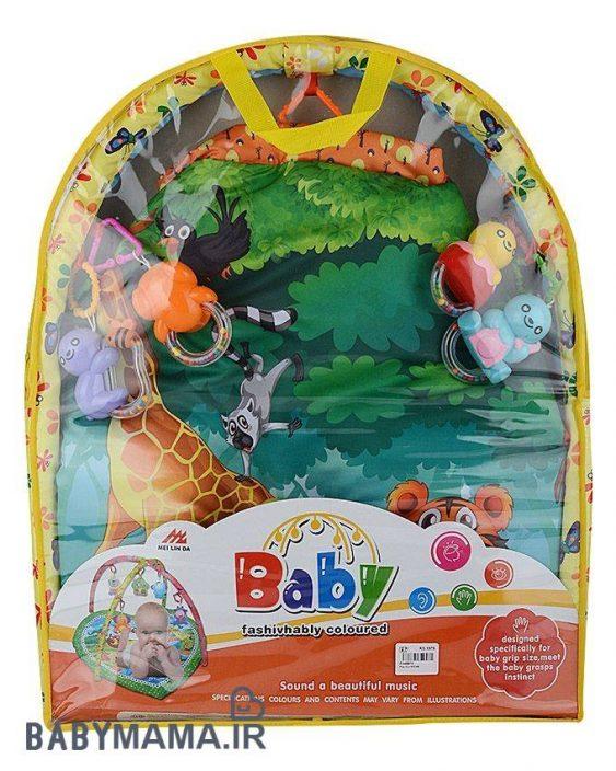 تشک بازی خارجی سه بعدی baby fashivhaby coloured