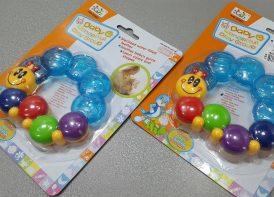 دندانگیر با آب استریل مدل حلزون baby Wonderful play Group