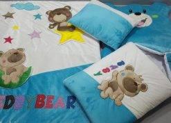 سرویس خواب 4 تیکه مخمل کودک مدل خرس تدی