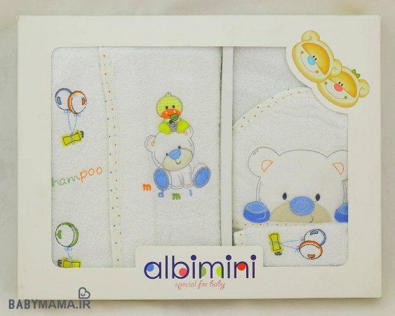 سرویس ۵ تیکه حوله کودک آلبی مینی albimini