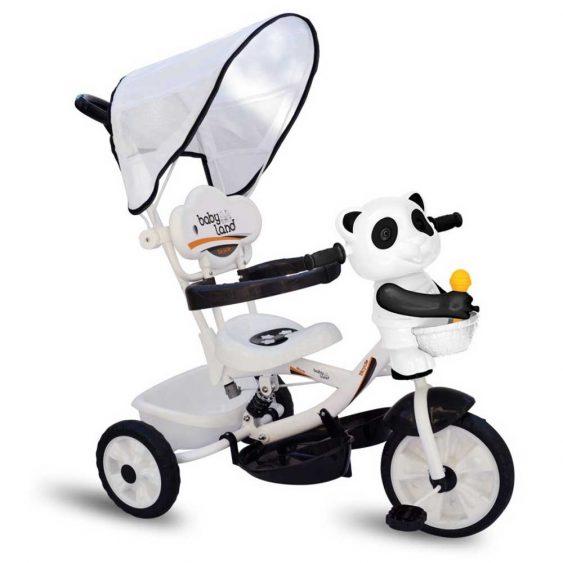 سه چرخه چراغدار موزیکال بیبی لند مدل پاندا