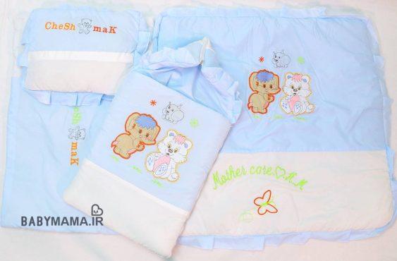 سرویس خواب ۴ نوزاد تیکه تترون فلامنت مدل فیل