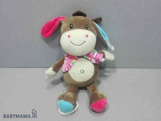 عروسک موزیکال نخ کش کارترز مدل donkey