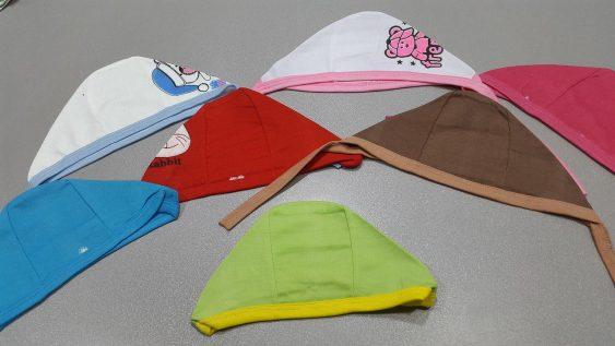 کلاه بندی تک چاپ نخی کودک