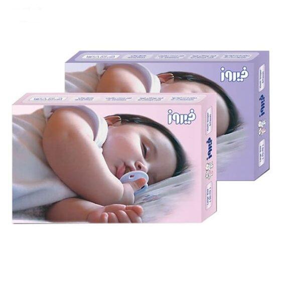 کهنه بچه و نوزاد 5 عددی فیروز