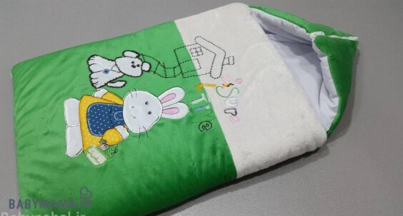 کیسه خواب مخمل مدل خرگوش
