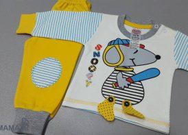 بلوز شلوار پنبه پسرانه بچگانه مایسا مدل Snoopy