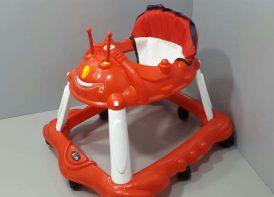 روروئک 8 چرخ موزیکال پویا مدل مریخی