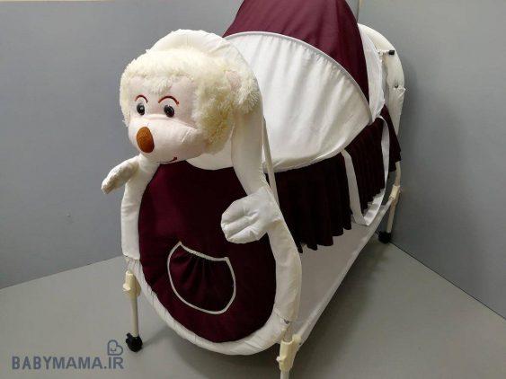 تخت و گهواره سانیکو مدل حیوانات