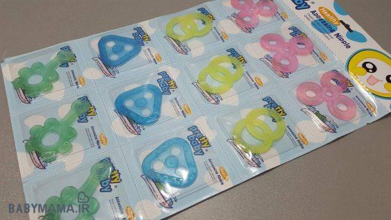 دندانگیر رنگی سیلیکون Pretty baby