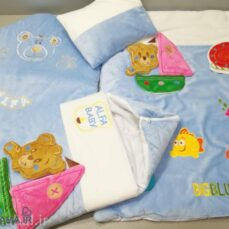 سرویس خواب مخمل ۴ تیکه نوزادی