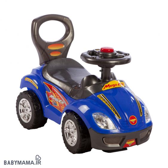ماشین بازی موزیکال سه کاره مدل Mega car