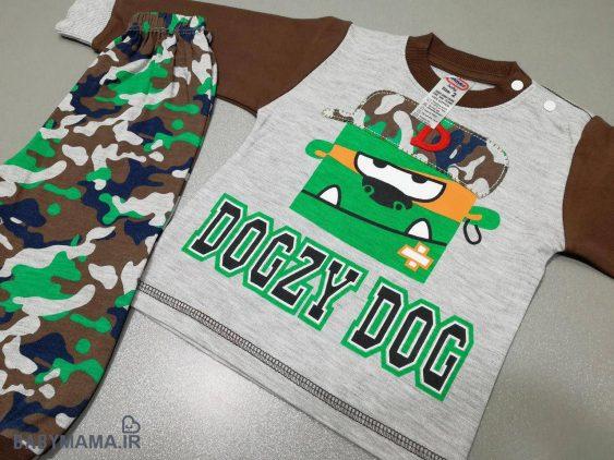 بلوز شلوار ارتشی مایسا مدل Dogzy dog