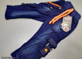 شلوار جین 6 جیب کودک سایز 45