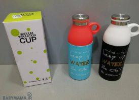 فلاسک استیل CUP مدل شیشه شیر