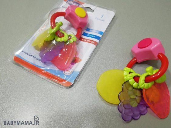 دندانگیر موزیکال کودک Chicco مدل میوه