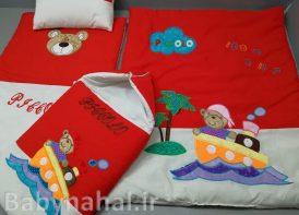 سرویس خواب 4 تیکه تترون کودک مدل خرس قایقران